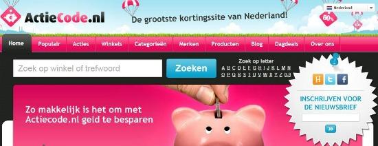 actiecode1 - Actiecode.nl