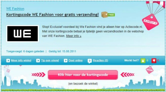actiecode2 - Actiecode.nl