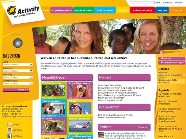 activity international 1 - Tip! Activity International