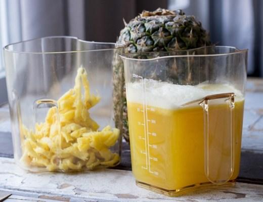 ananas gember citroen juice 1 - Recept | Ananas-gember-citroen juice