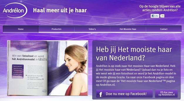 Heb jij het mooiste haar van Nederland?