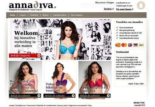 annadiva1 - Plus Size Shop   AnnaDiva.nl lingerie & badmode vanaf cup D