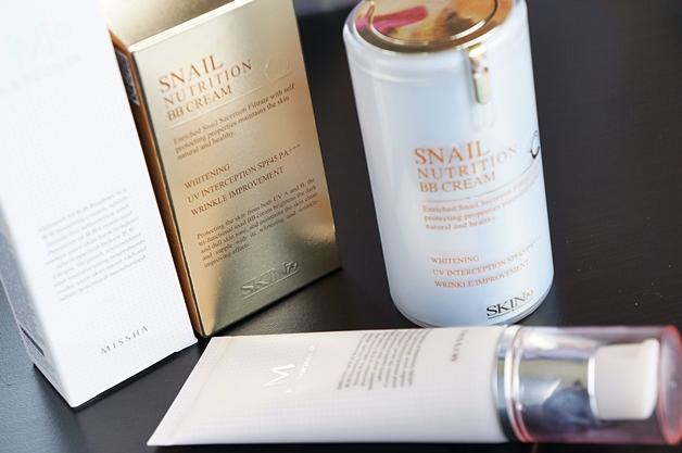 Missha B.B. Boomer & Skin79 Snail Nutrition BB Cream