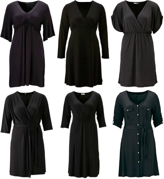 blackdresswinter3 - Plus Size | Black Dresses voor de winter/feestdagen