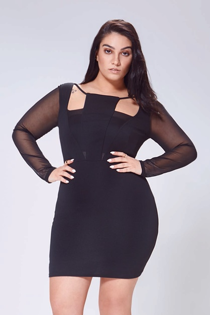 boohoo plus nadia Aboulhosn 2 - Plussize | Boohoo Plus x Nadia Aboulhosn collectie