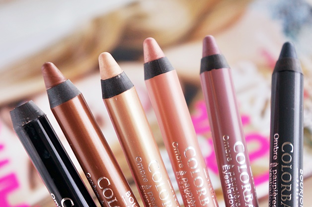 bourjois colorband eyeshadow liner review swatches 2 - Bourjois Paris très Confidentiel | Colorband eyeshadow & liner