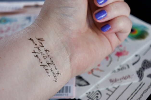 bourjois faux fabulous tattoos 3 - Bourjois faux & fabulous tattoos