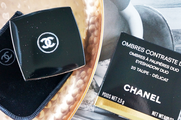 chanel ombres contraste duo taupe delicat 1 - Chanel eyeshadow duo Taupe Délicat