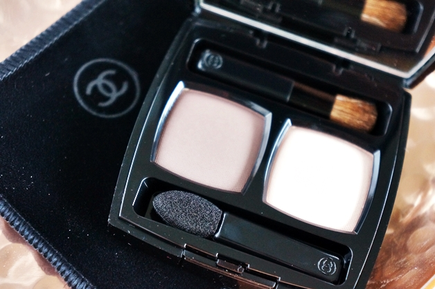 chanel ombres contraste duo taupe delicat 2 - Chanel eyeshadow duo Taupe Délicat