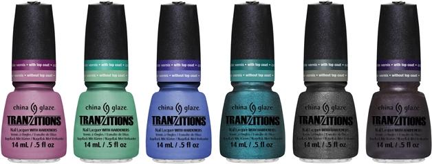 chinaglazetransitions1 - China Glaze | Tranzitions color changing collection