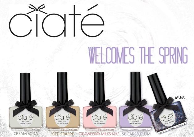 ciate2012spring - Newsflash | Lush, Dior, Chloé, Truly Yours, Inglot, Hema, Rituals, Ciaté, Philosophy, LOOkX & China Glaze