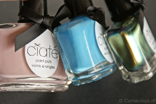 Ciaté | Oil Slick, Holiday Blues & Iced Frappe