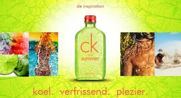 Newsflash   CK ONE summer 2012