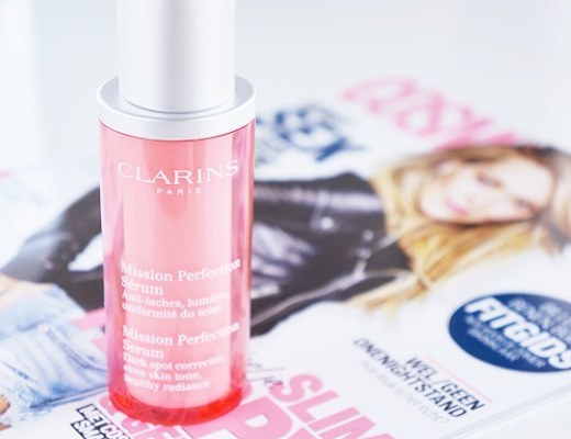 clarins mission perfection serum eview