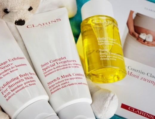 clarins mooi zwanger 1 - Beautytips voor tijdens de zwangerschap