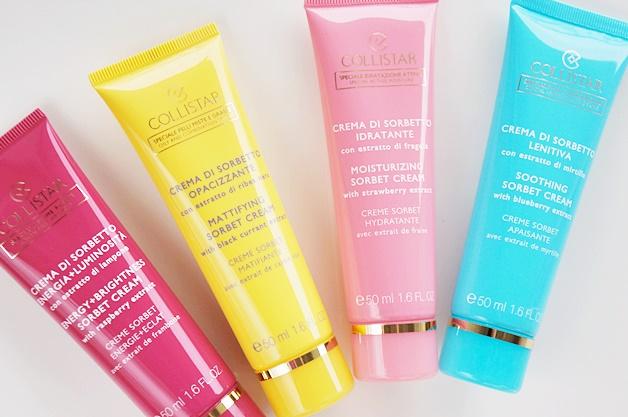 collistar sorbet cream review 2 - Collistar sorbet creams