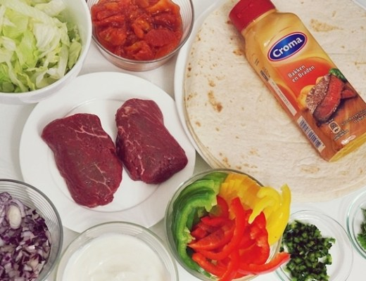 croma biefstuk 1 - Recept | Biefstuk-tomatensalsa-tortilla's
