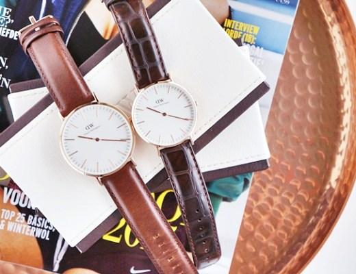 daniel wellington 3 - New in | Daniel Wellington horloges voor Paul en mij ♥