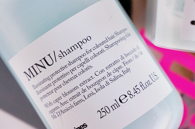 davines minu shampoo conditioner 2 - Davines essential haircare | Minu shampoo & conditioner