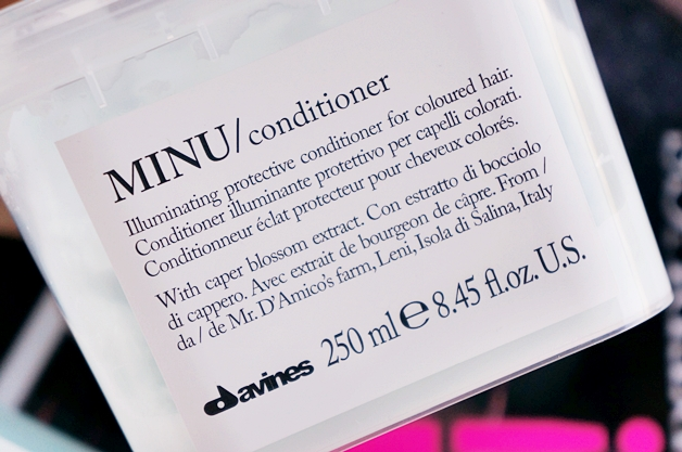 davines minu shampoo conditioner 3 - Davines essential haircare | Minu shampoo & conditioner