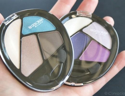 deborahmilanoquads1 - Deborah Milano   Quad eyeshadow Total Purple & Turquoise Touch