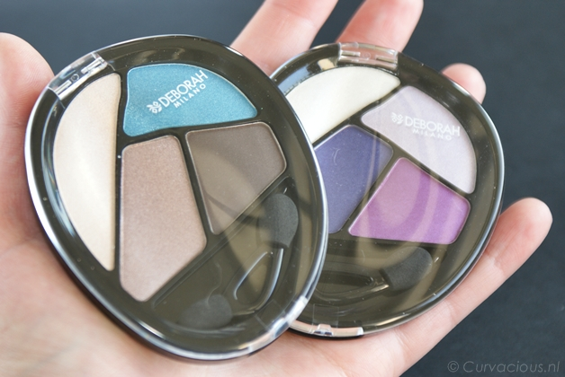 deborahmilanoquads1 - Deborah Milano | Quad eyeshadow Total Purple & Turquoise Touch
