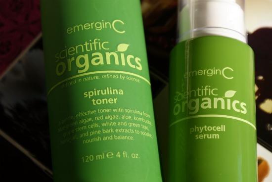 emerginc1 - EmerginC Scientific Organics spirulina toner & phytocell serum