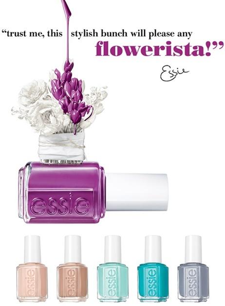 essie flowerista collectie