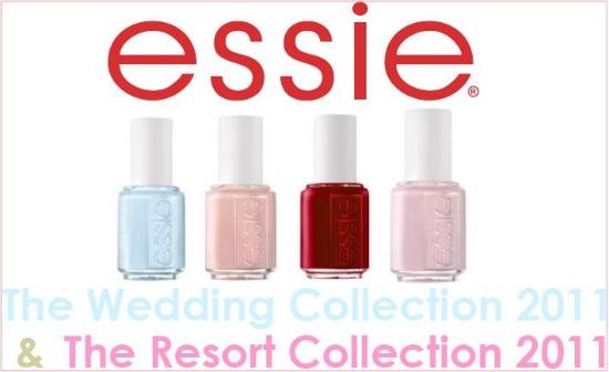 Essie The Wedding & The Resort Collection 2011