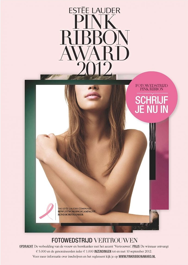 esteelauderpinkribbonfotowedstrijd - Estée Lauder Pink Ribbon Award 2012 fotowedstrijd