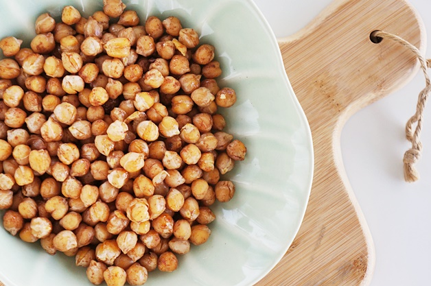 geroosterde kikkererwten recept 2 - Geroosterde kikkererwten (healthy snacktip)