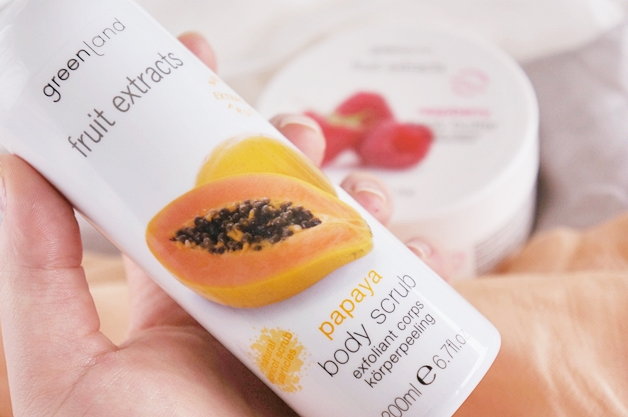 greenland fruit extracts papaya body scrub raspberry body butter 2 - Greenland fruit extracts papaya & raspberry