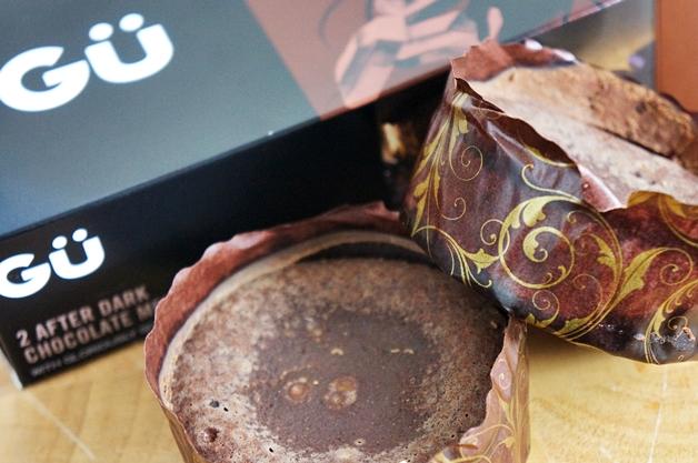 gu after dark chocolate melting middles 1 - Gü winter desserts   Cheesecake & melting chocolate