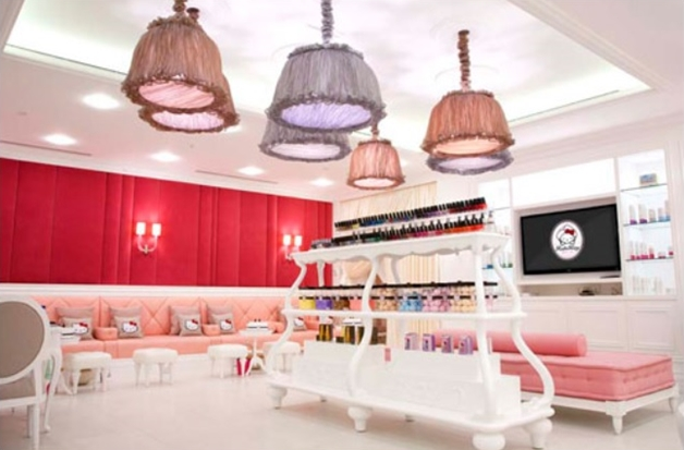 hello kitty beauty spa 1 - Wereldse hotspot | Hello Kitty beauty spa Dubai