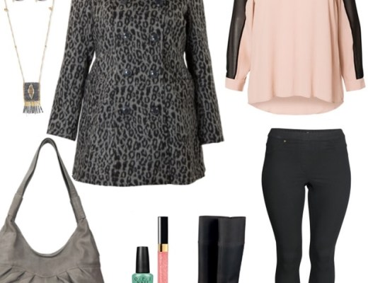 herfst inspiratie plussize outfit fashion augustus 2014 - Plussize outfit inspiratie | Autumn pastels
