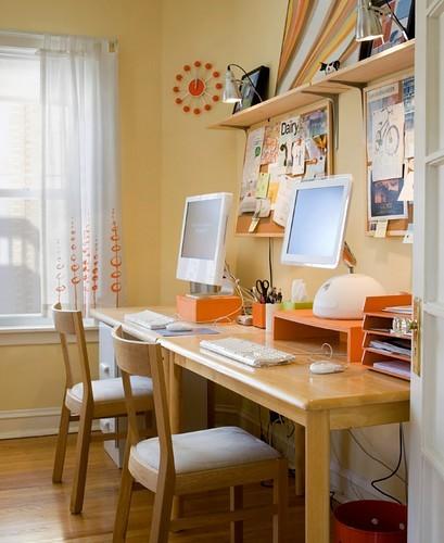 interieur kantoor inspiratie 7 - Interieur inspiratie voor je kantoor/werkkamer