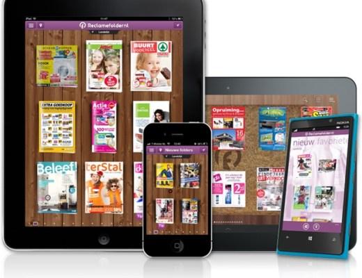 ipad iphone android windowsphone - Tip! | Download de gratis reclamefolder app