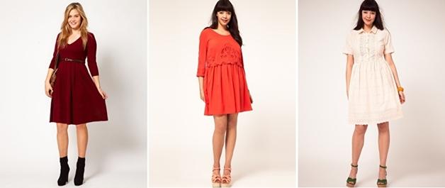 jurkjesmouwen1 - Plus Size | 26 x jurkjes met mouw