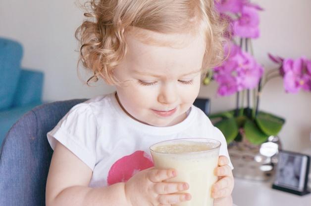 kabrita peutermelk 6 - Frisse zomersmoothies voor kids op basis van geitenmelk