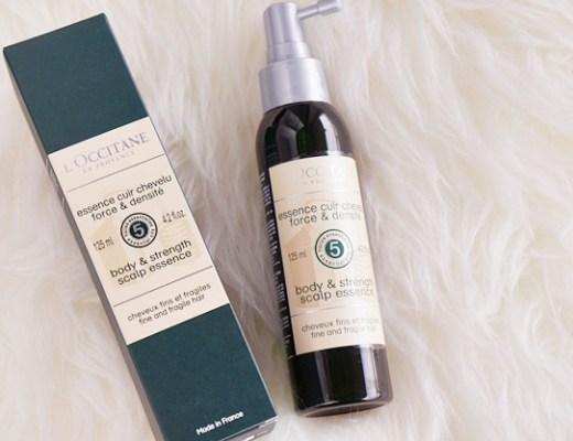 loccitane body strength scalp essence review 1 - L'Occitane body & strength scalp essence