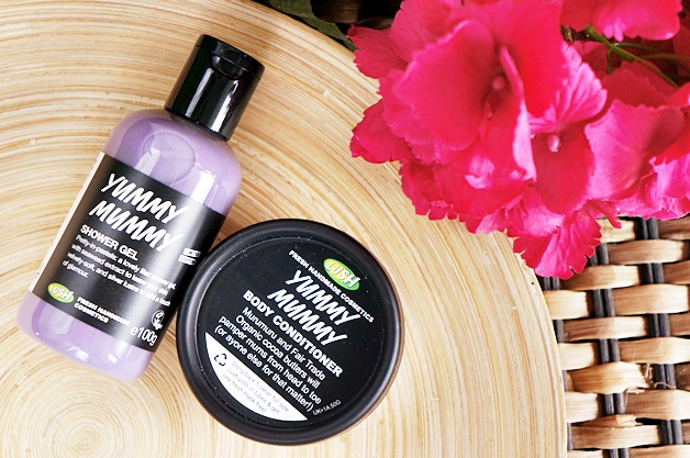 lush yummy mummy shower gel body conditioner 1 - Favoriete beautyproducten april 2015