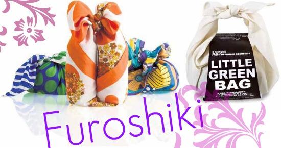 lushfuroshiki - Lush in de knoop!