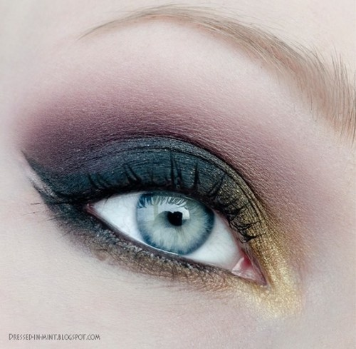 make up tips blauwe ogen 7 - Make-up tips voor blauwe ogen