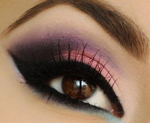 make up tips bruine ogen 5 - Make-up tips voor bruine ogen