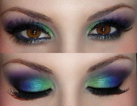 make up tips bruine ogen 7 - Make-up tips voor bruine ogen