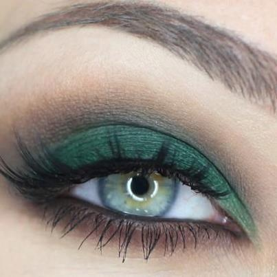 make up tips groene ogen 5 - Make-up tips voor groene ogen