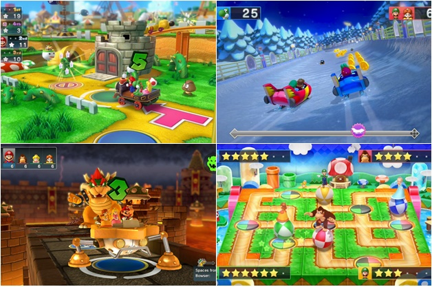 mario party 10 review - Gametime | Good old Mario en Kirby