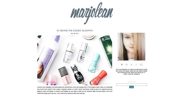 marjolean blog - Blogs I love   Must reads over bloggen