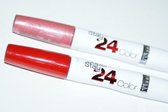 maybellinesuperstay24color3 - Review: Maybelline SuperStay 24h Color Lipstick