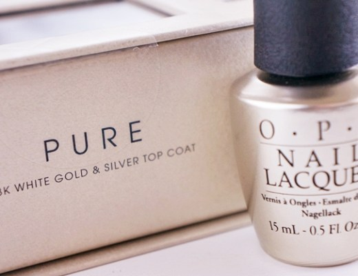 opi mariah carey pure topcoat 2 - OPI Mariah Carey pure 18K white gold & silver topcoat